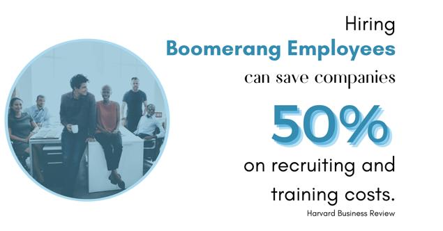 boomerang employees save 50%
