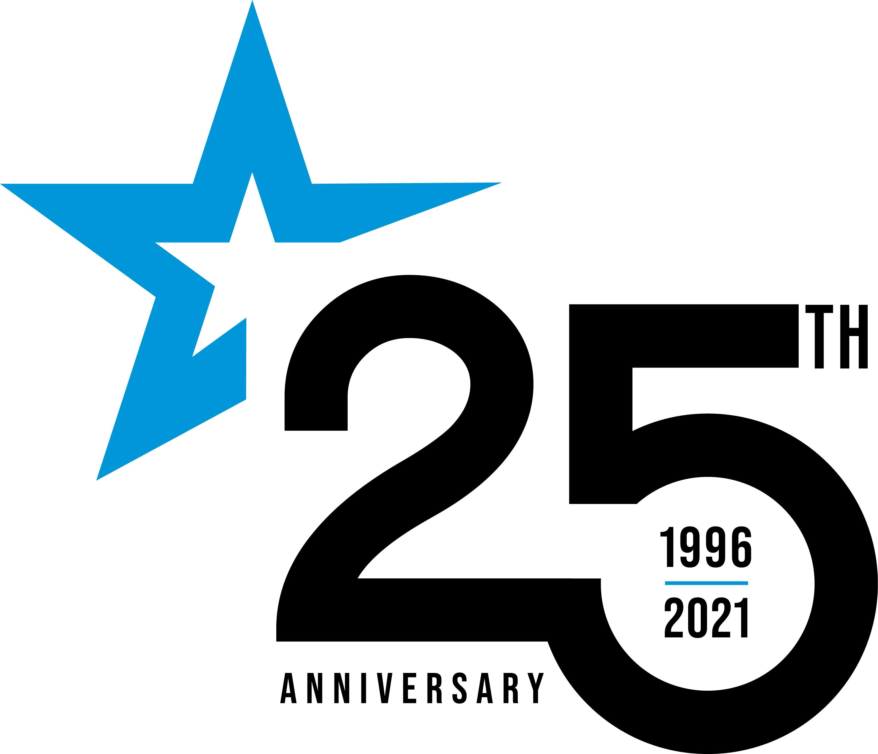 Insala's 25th anniversary logo